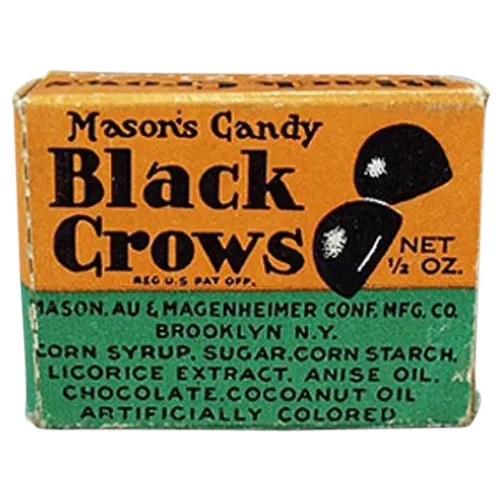 vintage black crow candy