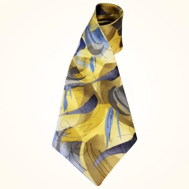 jerry garcia silk necktie