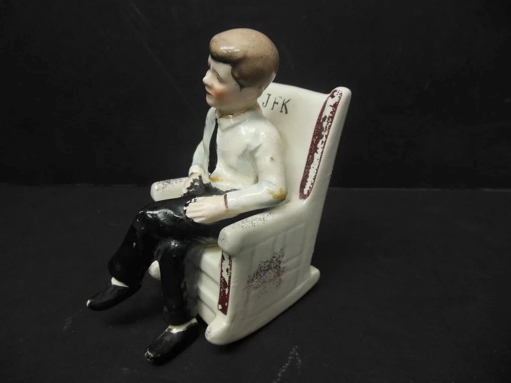 kennedy rocking chair pediatric shower commode john f salt and pepper shaker the