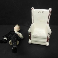 Kennedy Rocking Chair Wood Garden Plans John F Salt And Pepper Shaker The
