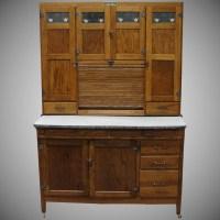 Vintage 1920 McDougall Oak Kitchen Cabinet : Bread ...