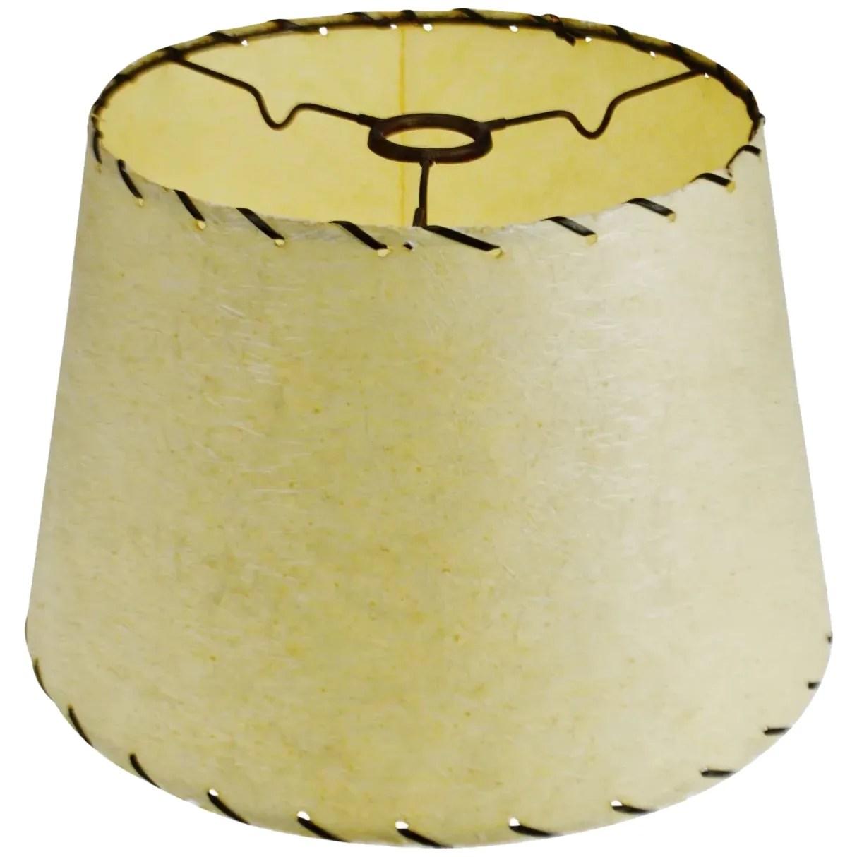 Mid Century Modern Fiberglass Lamp Shade W Spider Reflector Fitter Birchard Hayes Company Inc Ruby Lane