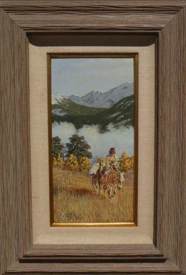 Art Kober Contemporary Western American Landscape Oil
