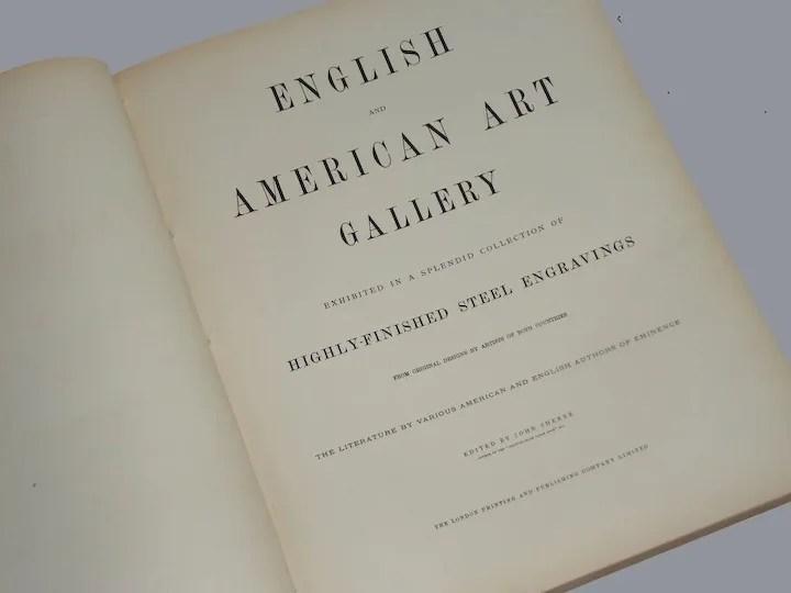 english and american art