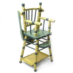 High Chair Converts To Table And Reclining Accent Canada Convertible Doll With Game Ca 1935 40