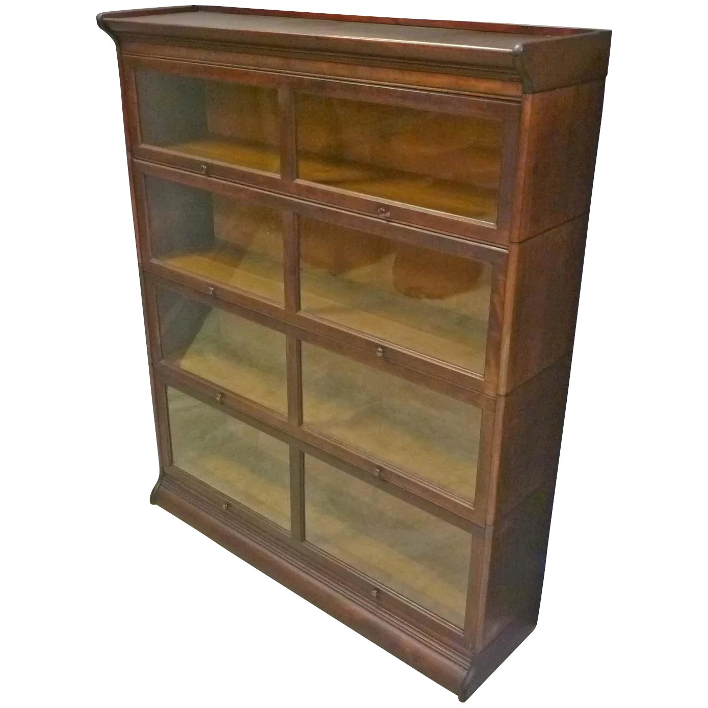 Wide Gunn Stacking Barrister Bookcase