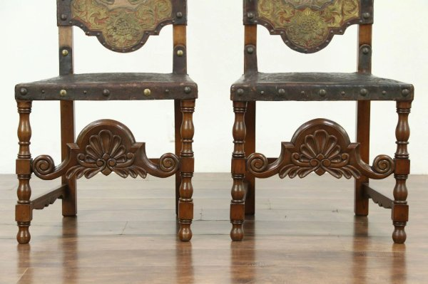 Antique Hand Painted Chair