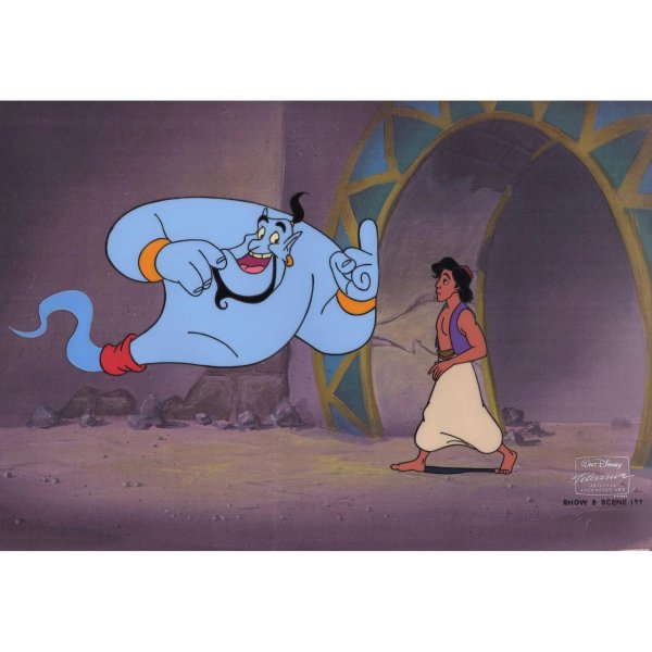 Disney Original Animation Production Cels