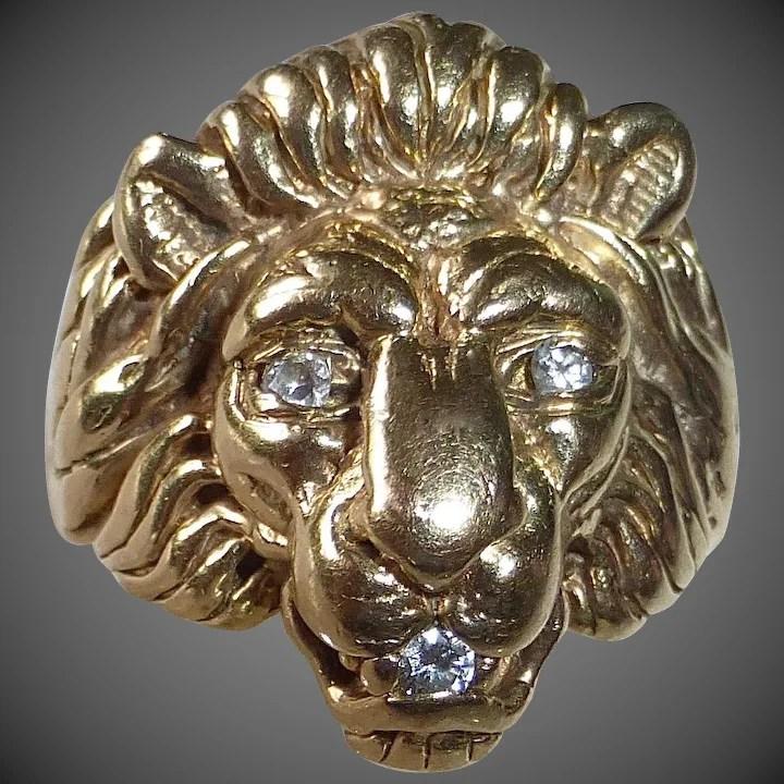 10k fierce lion head