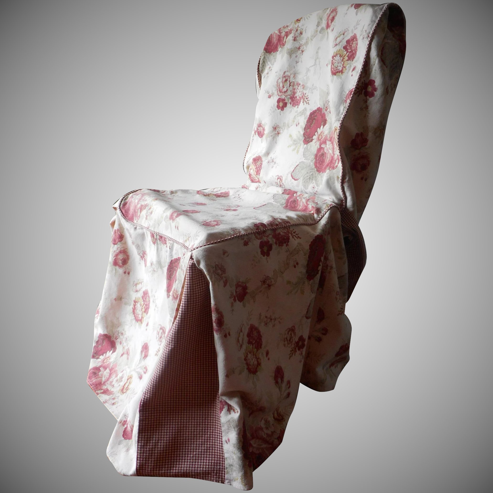 chair covers and more norfolk stand up exercise rose vintage waverly cover slipcover garden
