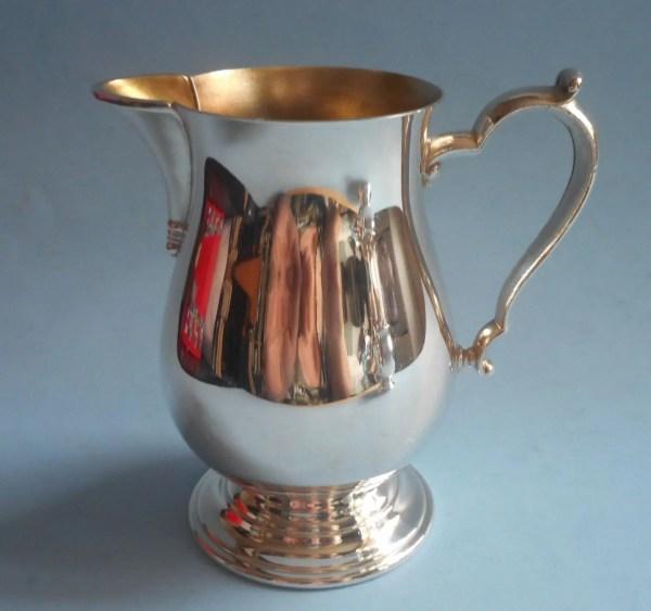 Handsome Vintage Tea Coffee Set Oneida Silver Plated