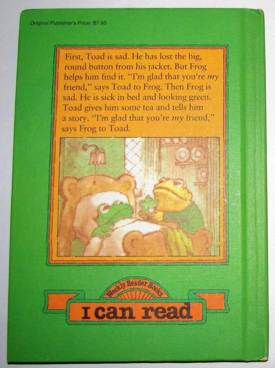 Frog And Toad Are Friends By Arnold Lobel Hc Like