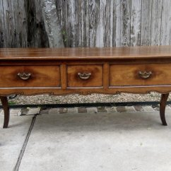 Vintage Lane Sofa Table Fusion Corner Bed Antique French Cherry Console The Uncommon