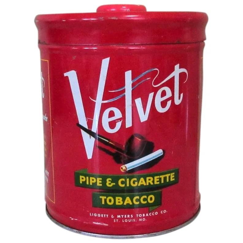 Velvet Humidor Pipe & Cigarette Tobacco Tin : Lake Girl