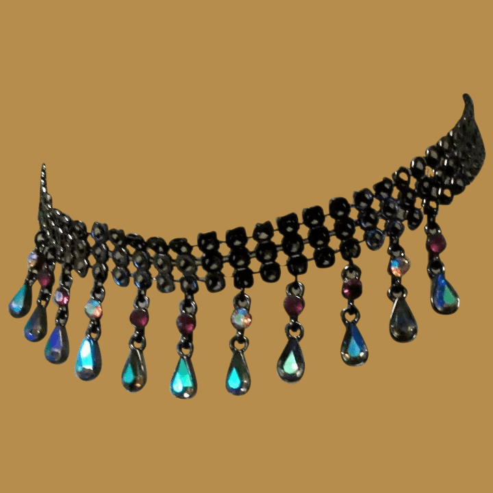 Black Japanned Chain