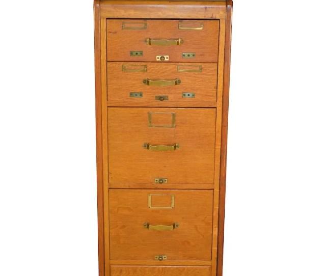 Oak Library Bureau Of Congress Small File Cabinet Maine Antique Furniture Ruby Lane