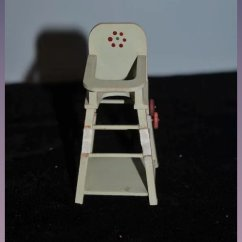 High Chair Converts To Table And Kids Office Chairs Vintage Doll Miniature On Wheels Oldeclectics Ruby Lane