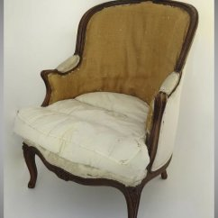 French Bergere Chair Arm Covers Argos Louis Xv Style Black Tulip Antiques Ltd Ruby Lane