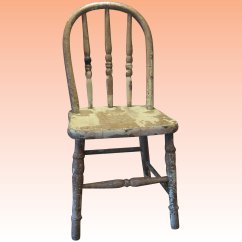 Antique Windsor Chair Patio Furniture Table And Chairs Charming Functional Child S Stray Dog Antiques Click To Expand