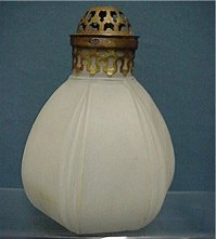 Gaslight Light Shades Matching Glass Pair Of Lamps : Drury ...