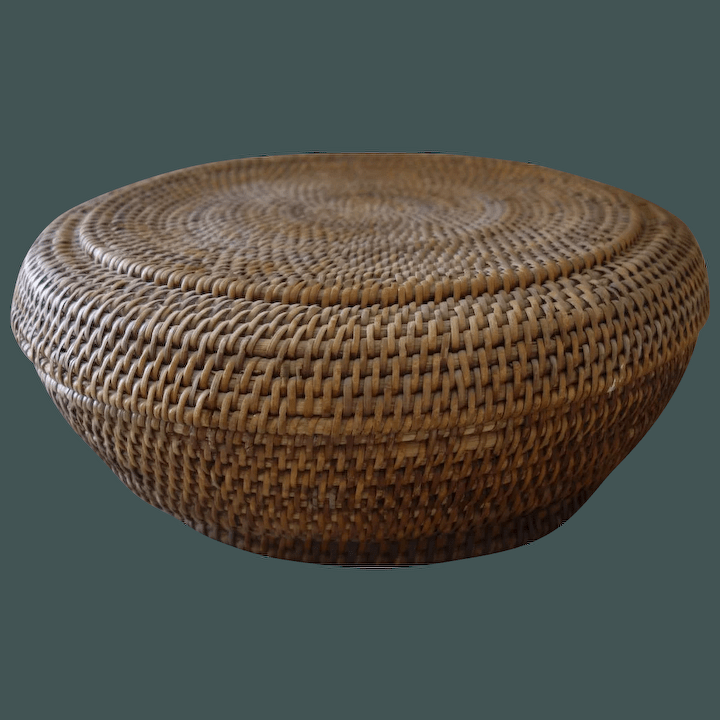 old chinese coil basket