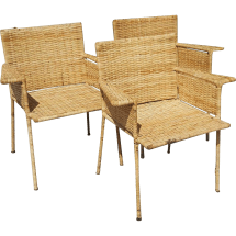 Wrought Iron and Wicker Furniture