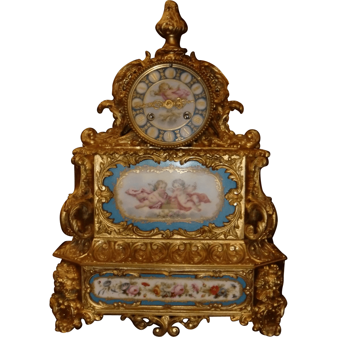 Incredible French Sevres Porcelain And Gilded Bronze