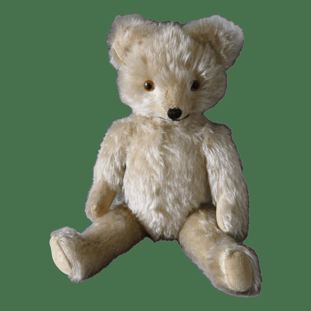 Vintage Knickerbocker Teddy Bear c1930s White SOLD on