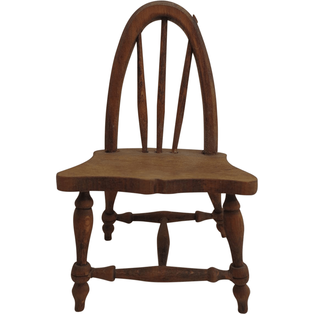handmade wooden chairs sashes for wedding vintage miniature chair from