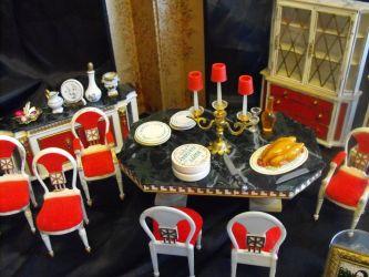 fantasy petite princess furniture dining ideal doll change allie antiques rubylane