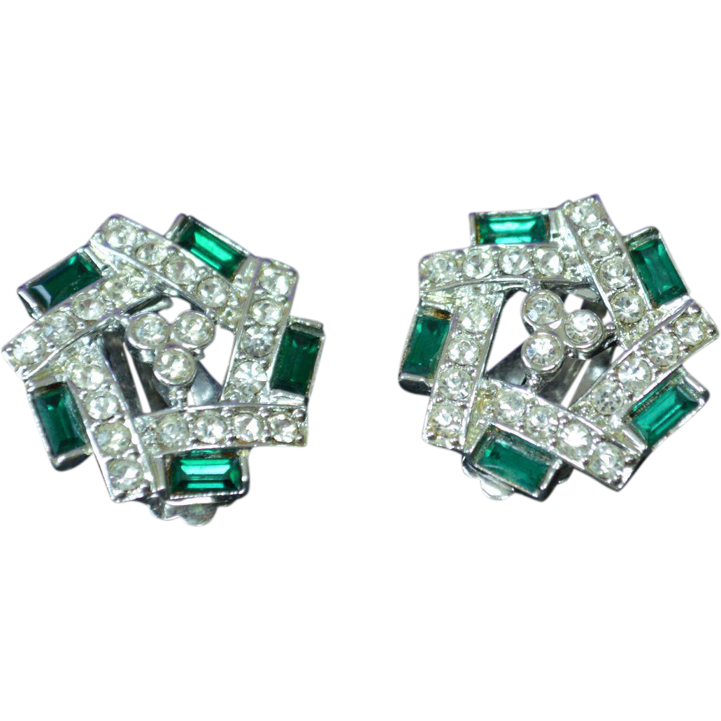 SARAH COVENTRY Rhinestone Earrings from ajax