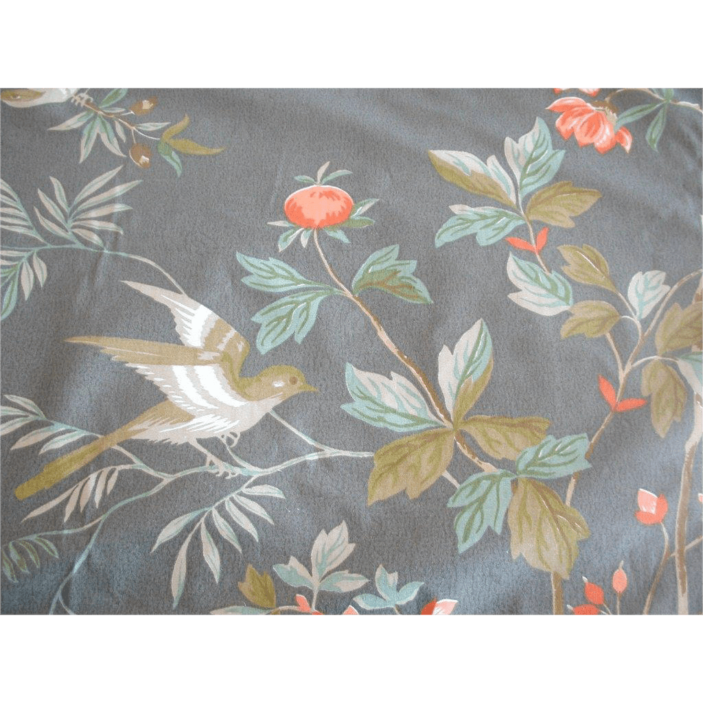 Vintage Floral Fabrics with Birds