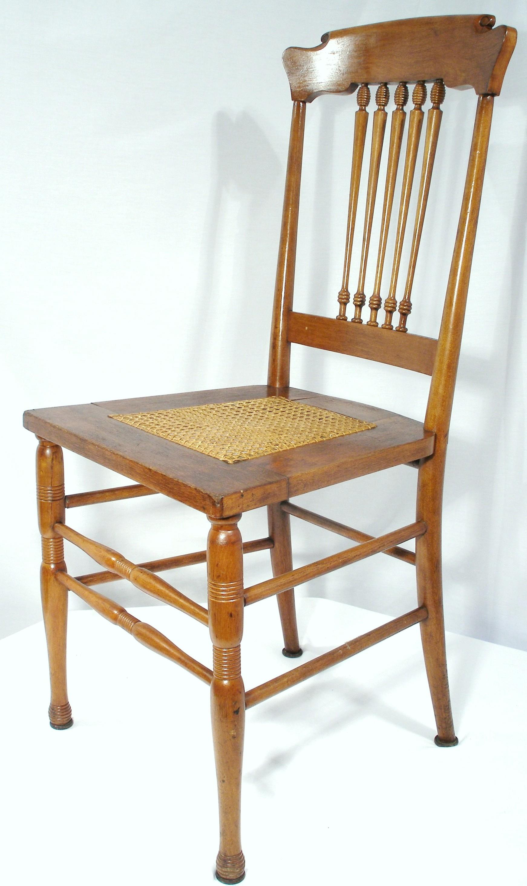 cane bottom chairs office chair design ergonomic antique walnut scandinavian style kitchen