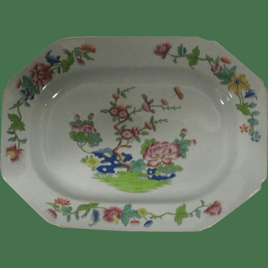 "Spode Stone China 12.5"" Platter Sold Ruby Lane"