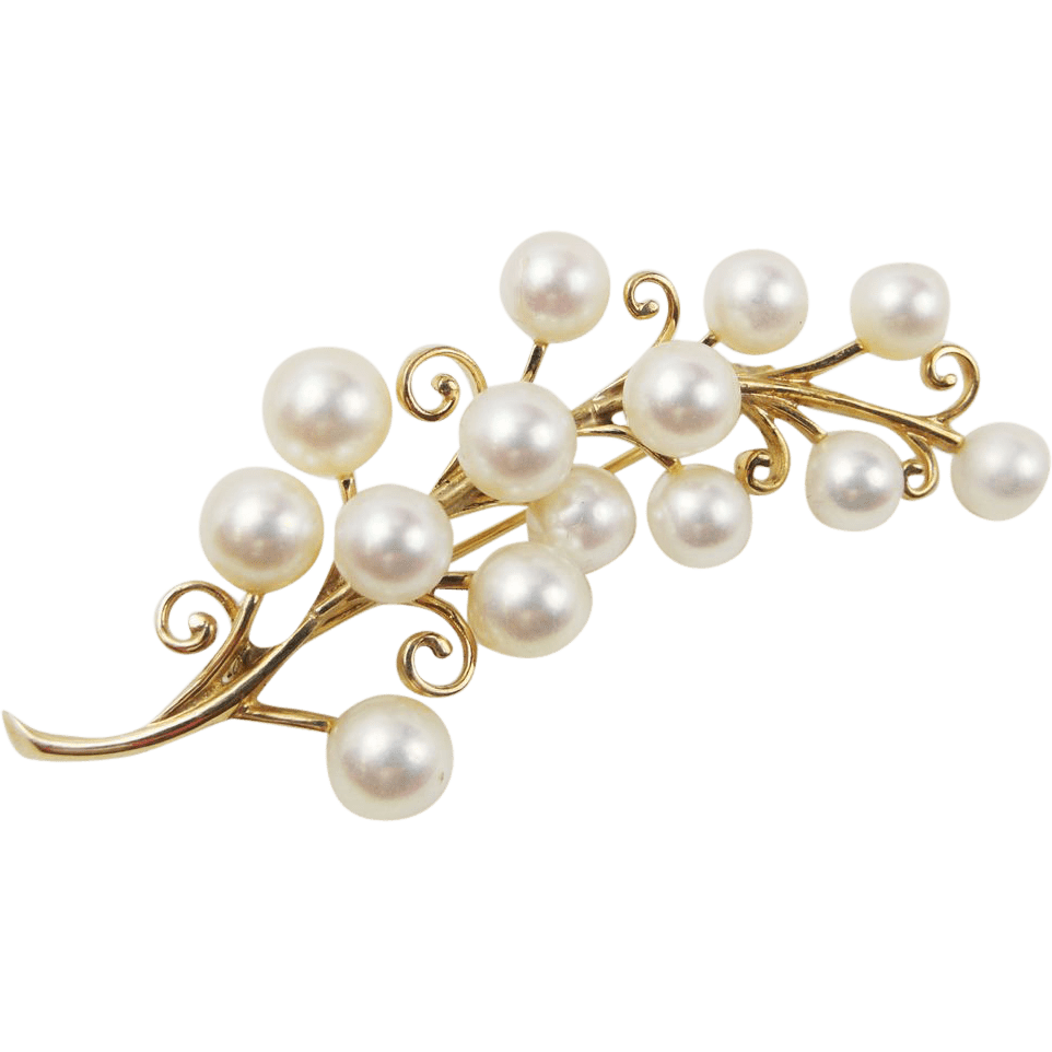 Fashion Background Pearls And Diamonds
