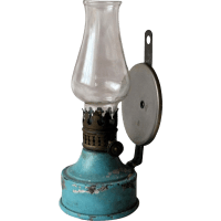 Petroleum Wall Lamp 1880-1900 from luisa27 on Ruby Lane