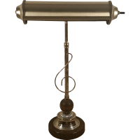 Bankers Brass Adjustable Desk Table Lamp from second-time ...