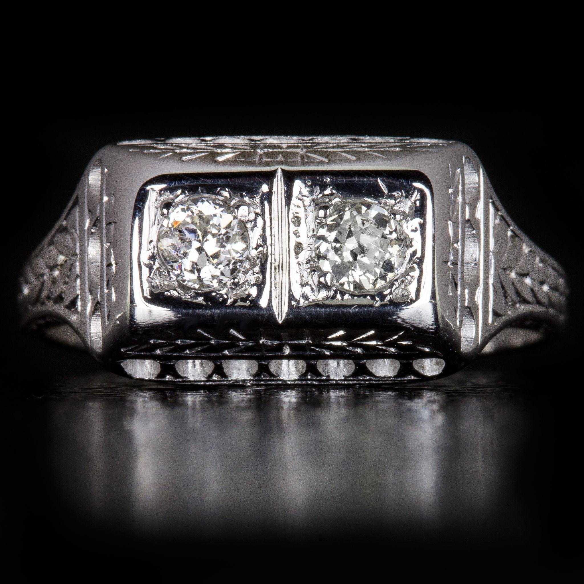 Art Deco Engagement Rings Chicago
