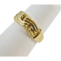 14 Karat Yellow Gold Ladies Ring from edbergjewelry on