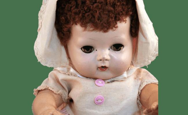 Tiny Tears American Character Doll 13 Tall Hard Plastic
