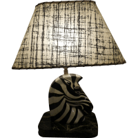 Mid Century Porcelain Zebra Table Lamp Circa 1950's-60's ...