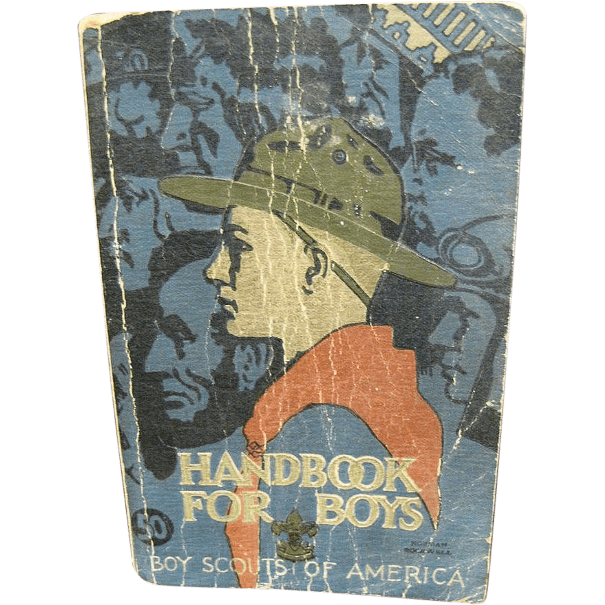 Boy Scouts Of America Handbook For Boys 1st Edition 30th