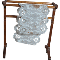 Vintage Dollhouse Nice Wood Quilt Rack from ...