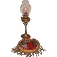 Old Doll Miniature Lamp Oil Lamp Dollhouse SOLD on Ruby Lane