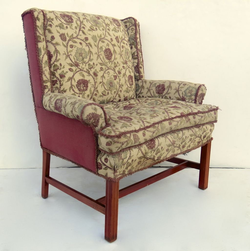 Retro Accent Chairs Vintage Marquis Upholstered Arm Chair From Blacktulip On