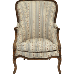 French Louis Chair All Purpose Xv Bergère Walnut From Blacktulip On