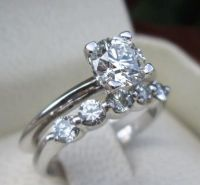 Tiffany & Co. GIA VVS1 Certified Diamond Engagement Ring