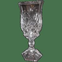 Lexington 24% Lead Crystal Hurricane Lamp Candle Holder ...
