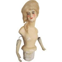 Antique Munzerlite Lamp Doll from nostalgicimages on Ruby Lane