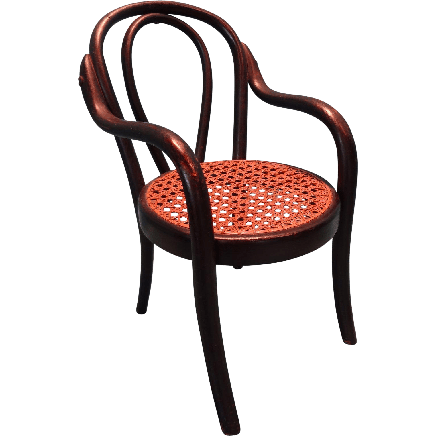 thonet chair styles fisher price potty miniature bentwood in the style and ebony